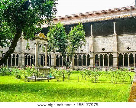 Hdr Santa Maria Della Verita Church In Viterbo