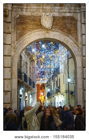 Salerno, Novembre 2016 - The Porta Nova with