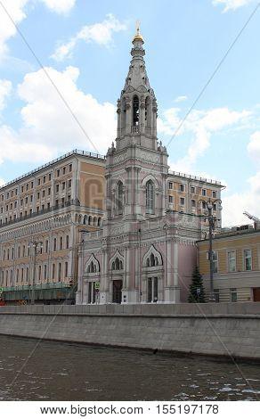 Temple of of Sophia the Wisdom of God in the Middle Sadovniki