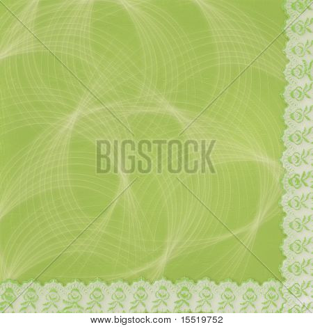 Beautiful Abstract Background With Lace For Congratulation Or Invitation
