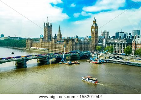 Westminster Palace In London