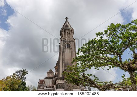 The Montmartre church of Balata in Fort de France in West Indies, Martinique