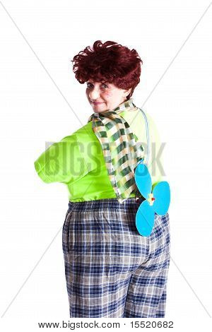 Girl In Costume Carlson