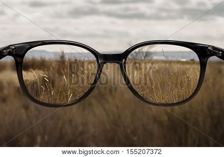 Clear Vision Through Glasses