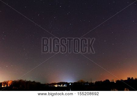 Astrophotography. Shine bright like a star in the sky