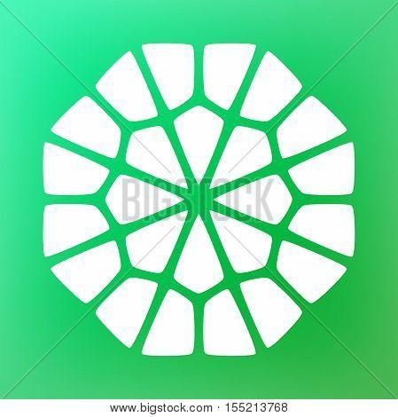 Vector Decorative Mandala Symbol Ornamental Logo Illustration