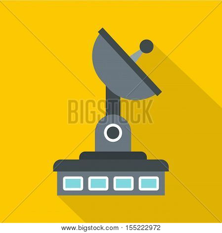 Observatory icon. Flat illustration of observatory vector icon for web