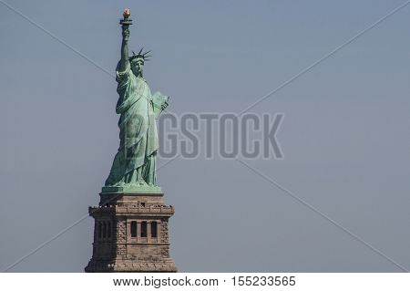 The Statue of Liberty Enlightening the World, Liberty Island, NYC