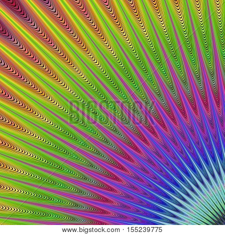Colorful abstract computer generated art background design