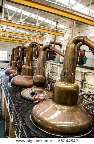 scottish distillery whisky trail speyside scotland glen