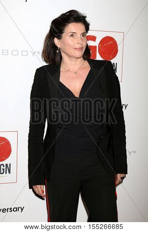 LOS ANGELES - NOV 5:  Julia Ormond at the 10th Annual GO Campaign Gala at the Manuela at Hauser Wirth & Schimmel on November 5, 2016 in Los Angeles, CA