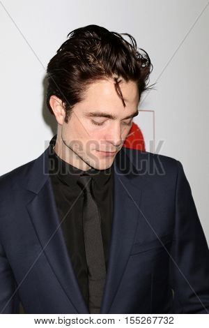 LOS ANGELES - NOV 5:  Robert Pattinson at the 10th Annual GO Campaign Gala at the Manuela at Hauser Wirth & Schimmel on November 5, 2016 in Los Angeles, CA