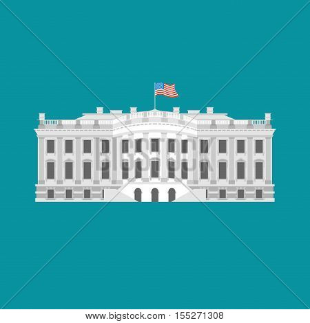 White House America. Residence of President USA.