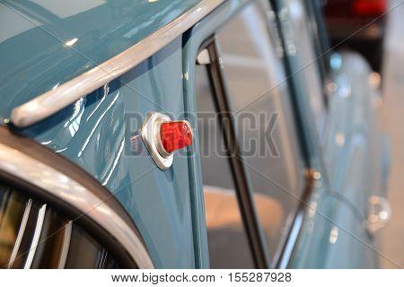 Part Of Vintage Car Skoda