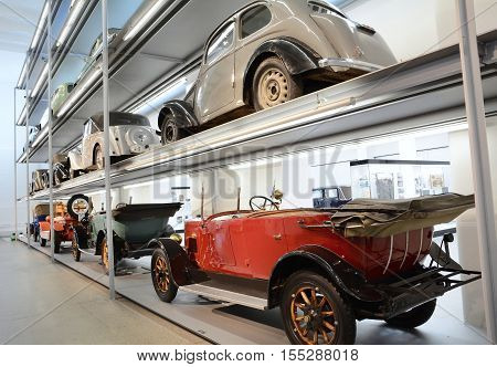 Vintage Cars Skoda