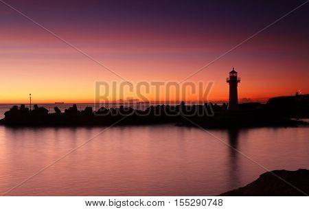 Sunrise Wollongong Breakwater Lighthouse