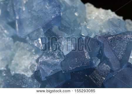 blue fluorite mineral specimen the natural beauty