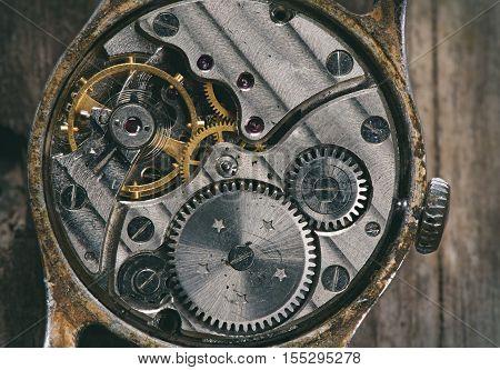 Clock Mechanism Macro
