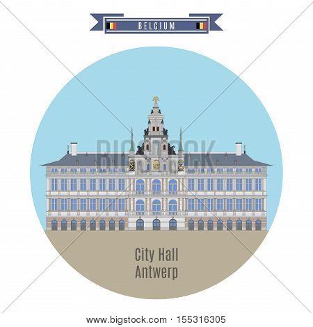 City Hall Of Antwerp, Belgium