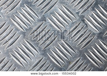 Dirty Corrugated Sheet Metal Background