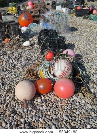 Lobster Pots And Fishing Gear