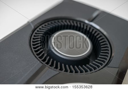 Cooling Fan Of Blower Cooler Of Videocard.