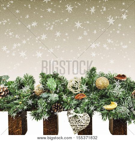 Christmas background for advertising
