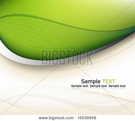Eps10 green background design