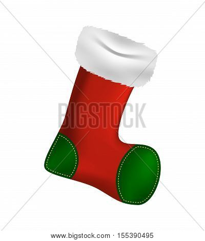 Christmas Stocking Sock Vector Symbol Icon Design