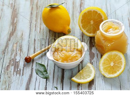 lemon curd cream made from natural organic lemons