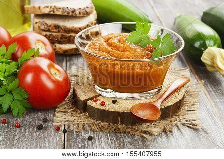 Homemade Zucchini Puree