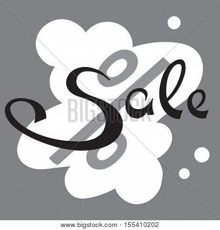 Sale banner. Big Sale tag. Sale sign. Web sticker. Sale sticker. Advertisement sticker. Big sale sticker. Simple sticker. Vector illustration.