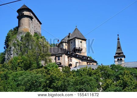 Slovakia oravsky podzamok 2016 august 9 oravsky castle on the rock