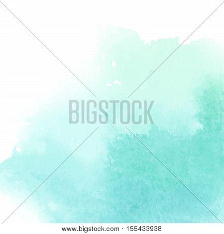 Vector hand drawn watercolor background. Colorful watercolor background for invitation, postcards, business cards and others.
