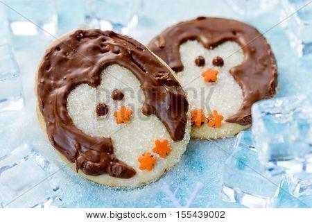 Christmas penguin cookies sweet treats for kids