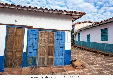 Old Rustic Doors And Colonial Architecture
