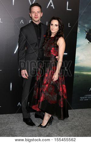 LOS ANGELES - NOV 6:  Mark O'Brien, Georgina Reilly at the