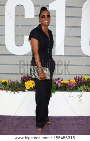 LOS ANGELES - NOV 5:  Aisha Tyler at the 33rd Breeder's Cup World Championship at the Santa Anita Park on November 5, 2016 in Arcadia, CA
