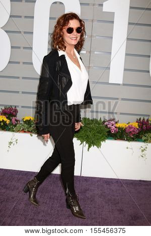 LOS ANGELES - NOV 5:  Susan Sarandon at the 33rd Breeder's Cup World Championship at the Santa Anita Park on November 5, 2016 in Arcadia, CA