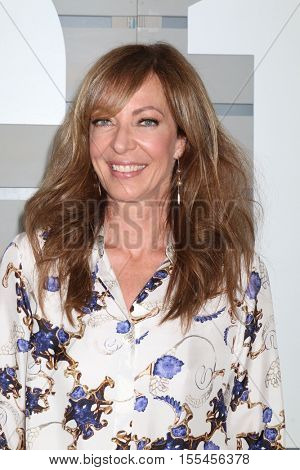 LOS ANGELES - NOV 5:  Allison Janney at the 33rd Breeder's Cup World Championship at the Santa Anita Park on November 5, 2016 in Arcadia, CA