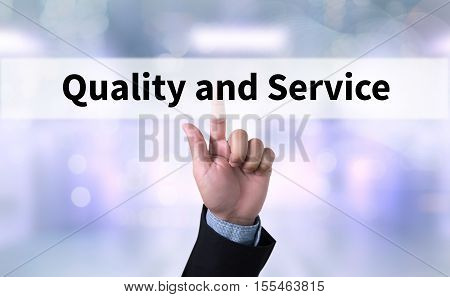 Quality And Service ,quality - Service - Price