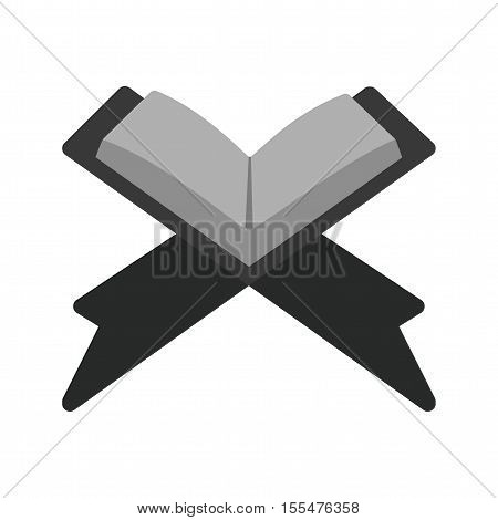 Quran, holy, muslim icon vector image. Can also be used for islamic. Suitable for mobile apps, web apps and print media.
