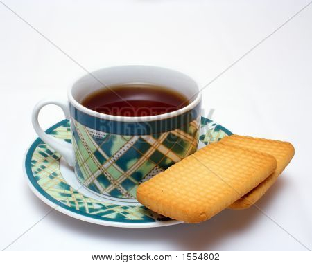 Cup Of Tea With Cake