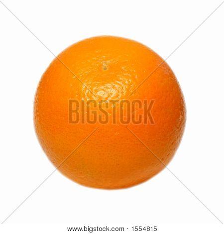 Orange Isolated Object