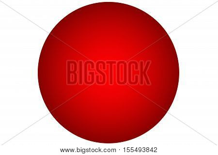 3D ball Color illustration background .3D design