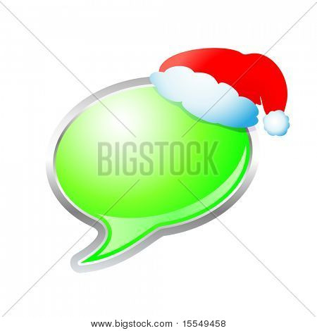 Christmas Thought Bubble