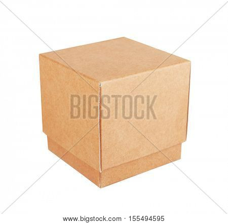 Paper Box isolated on white background
