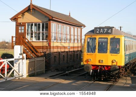 Dmu And Signal Box