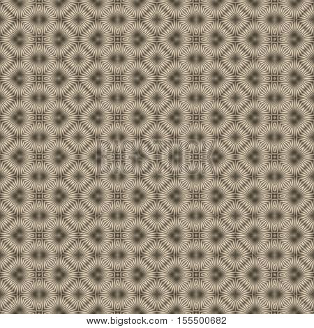 Seamless beige art deco design pattern wallpaper