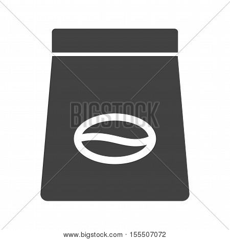 Coffee, packet, bag icon vector image. Can also be used for coffee shop. Suitable for use on web apps, mobile apps and print media